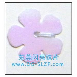 14mm五叶平梅花亮片