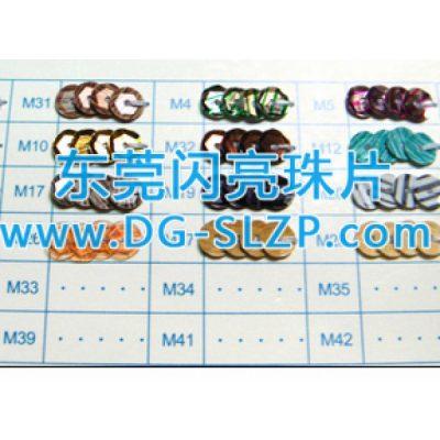 木纹理珠片