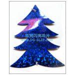 彩色17mm圣诞树形亮片